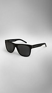 Square-Frame Polarised Sunglasses