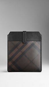 Smoked Check iPad Case