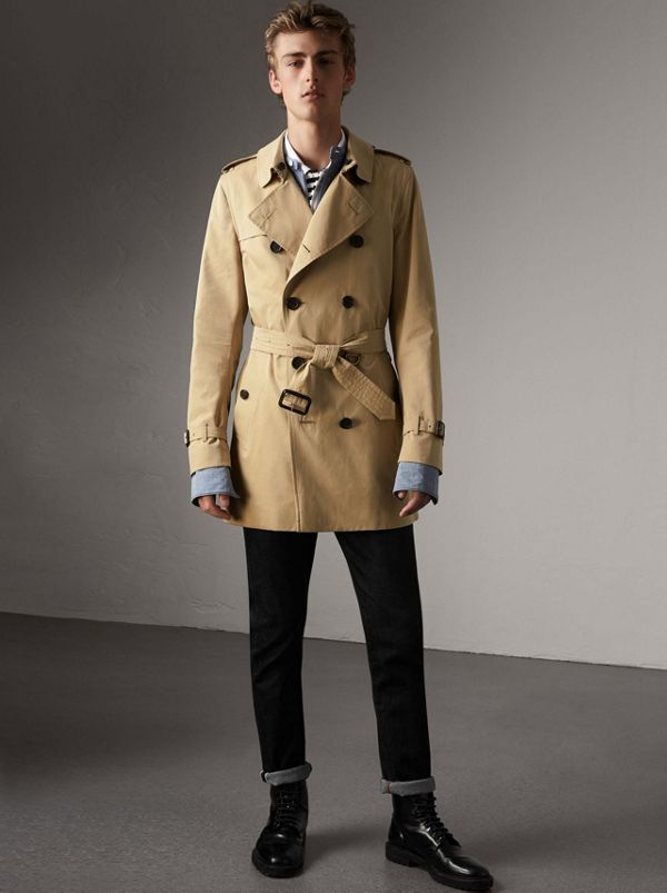 The Kensington Mid Length Heritage Trench Coat