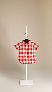 Oversize Gingham Check Shirt