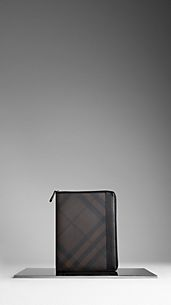 Funda para iPad de checks Smoked