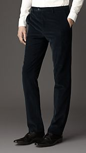 Modern Fit Corduroy Trousers