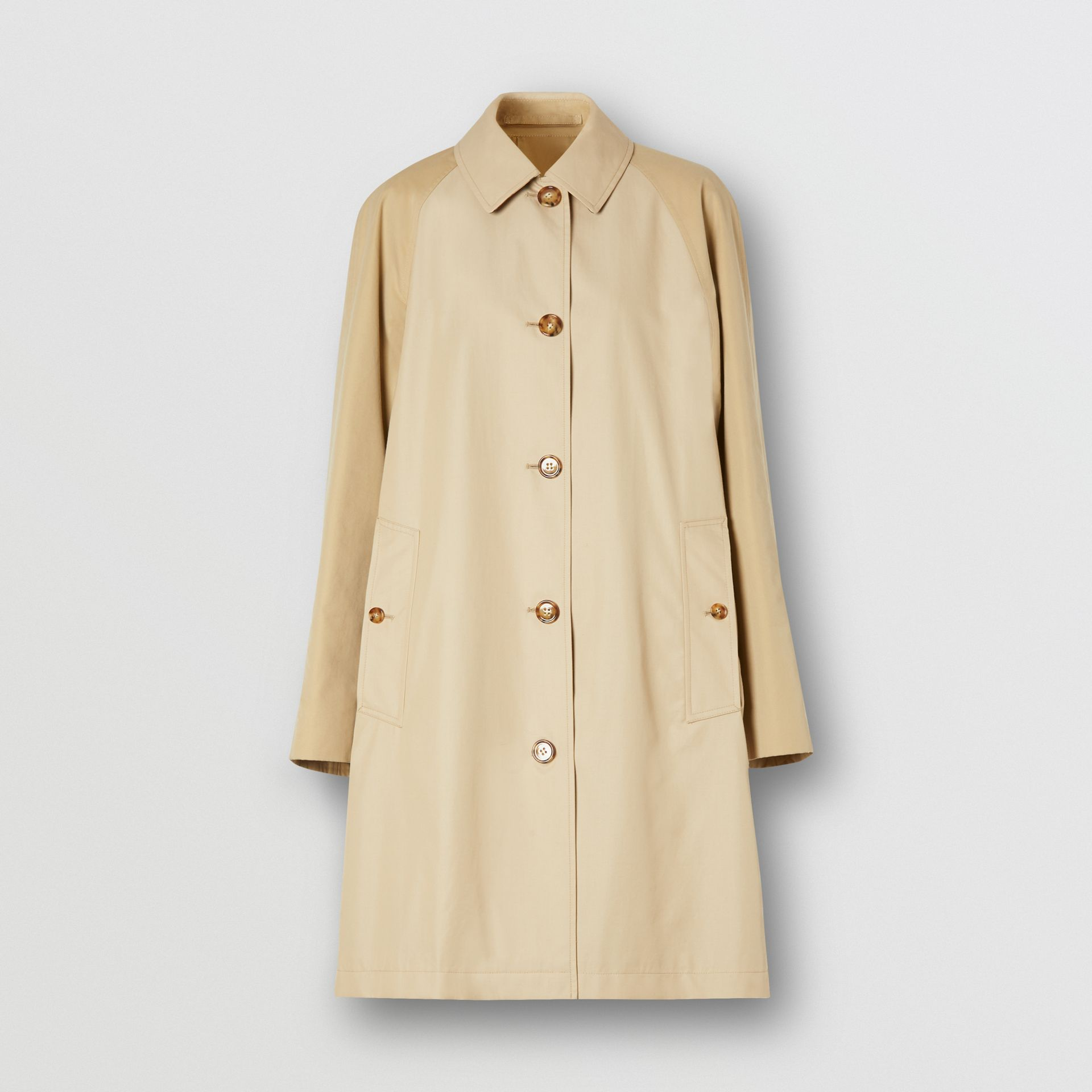 Two-tone Reconstructed Car Coat - Women | Burberry - gallery image 3