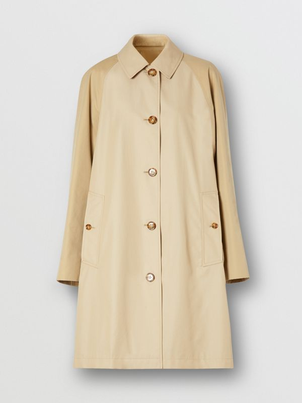 Two-tone Reconstructed Car Coat - Women | Burberry - cell image 3