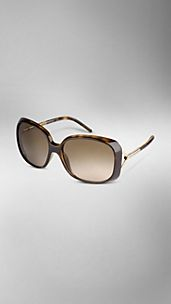 Oversize Rounded Frame Sunglasses