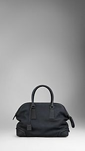 Heritage Grain Leather Holdall
