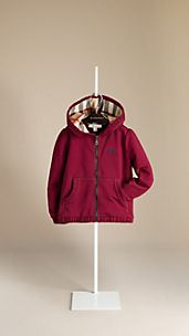 Ruche Trim Hooded Top