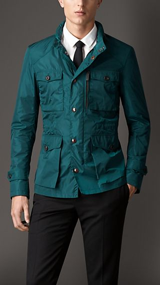 Technical Nylon Field Jacket