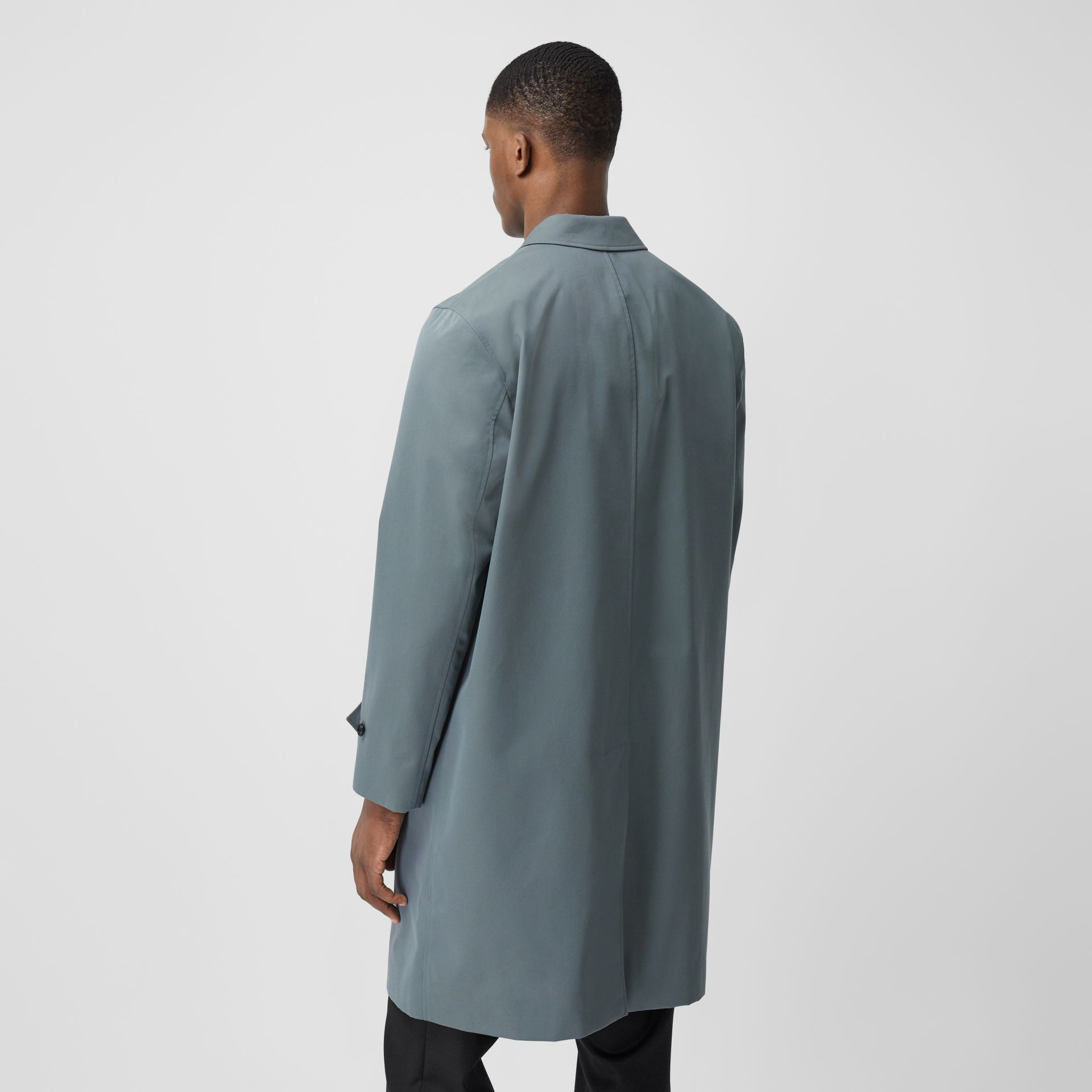 Cotton Gabardine Car Coat - Men | Burberry United Kingdom - gallery image 2