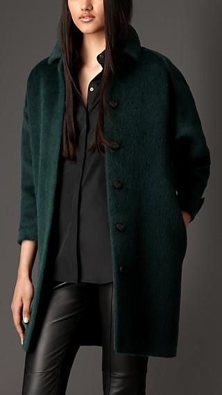 Alpaca Wool Overcoat