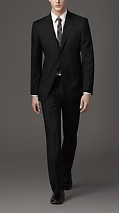 Classic Fit Wool and Mohair Suit