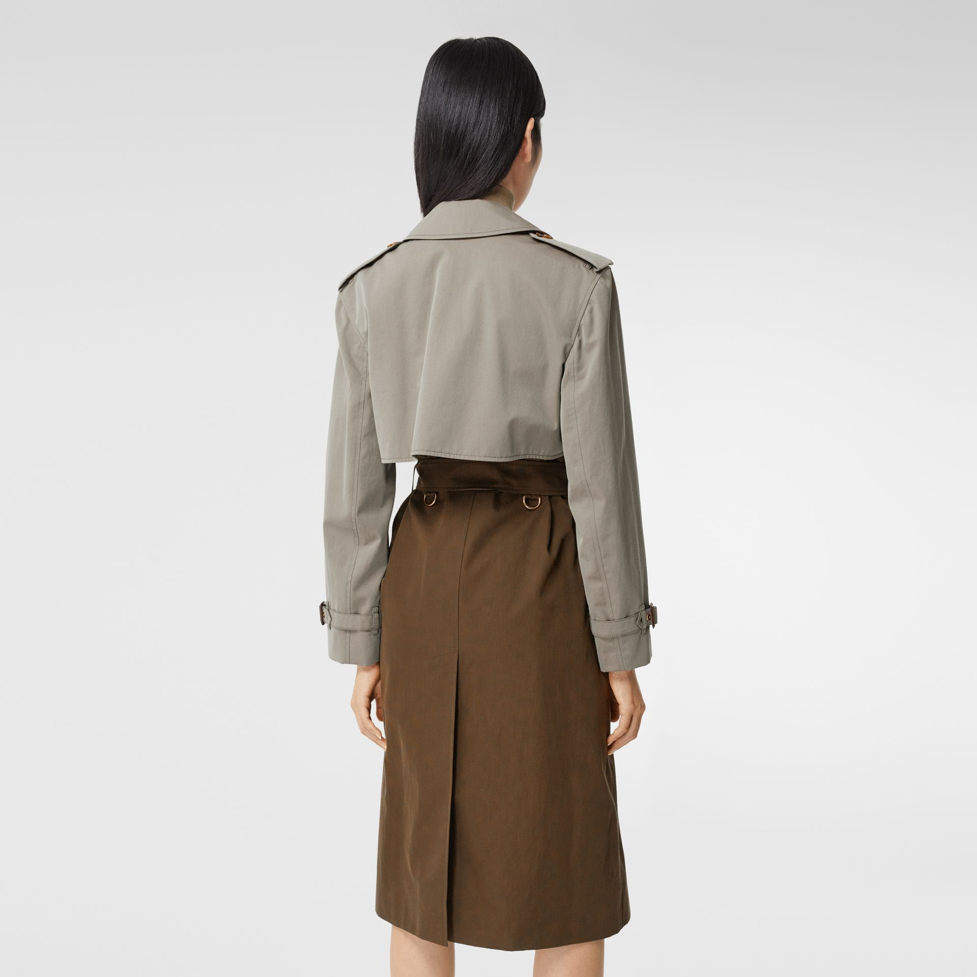 Two-tone Reconstructed Trench Coat - Women | Burberry - gallery image 2
