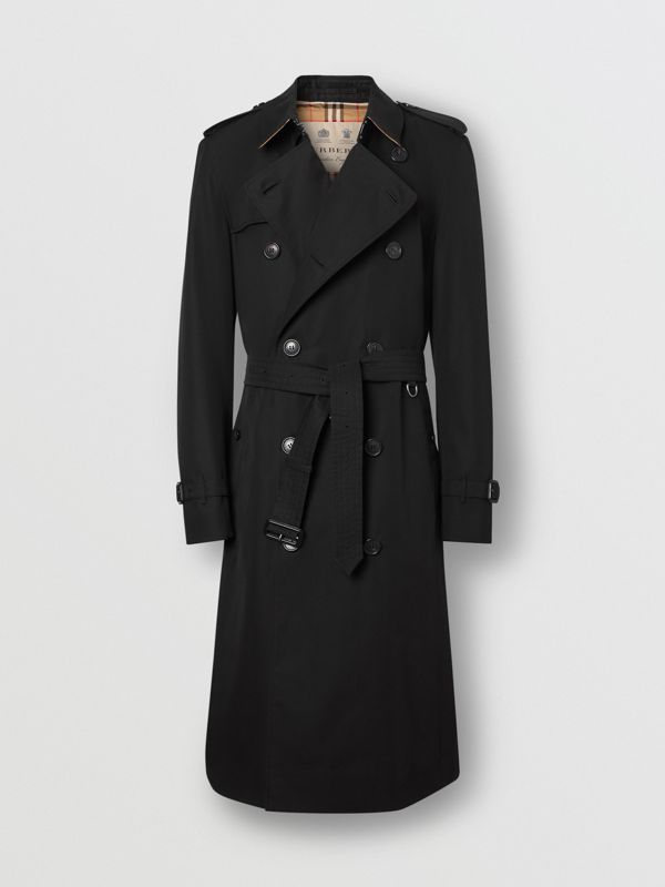 Trench Heritage long The Chelsea (Noir) - Homme | Burberry Canada - cell image 3