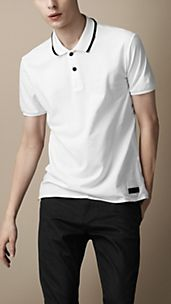 Sport Collection Tipped Collar Polo Shirt