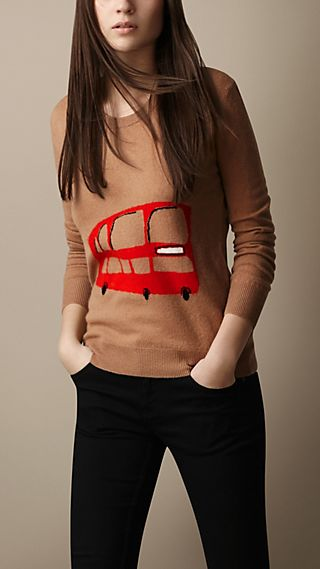 Bus Wool Cashmere Sweater