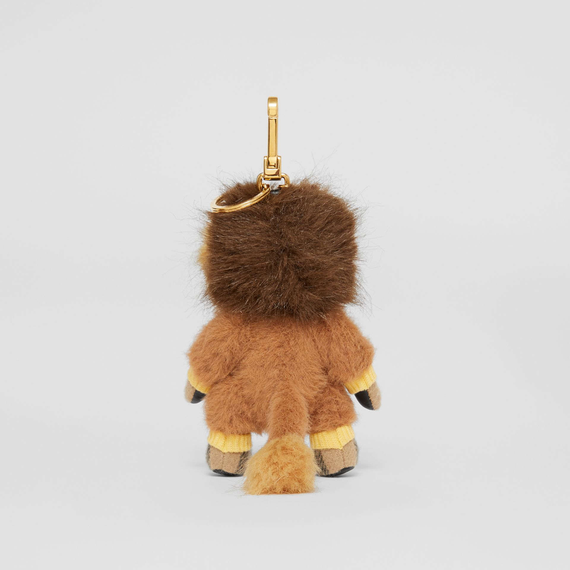 Thomas Bear Charm in Lion Costume in Archive Beige - Women | Burberry - gallery image 3