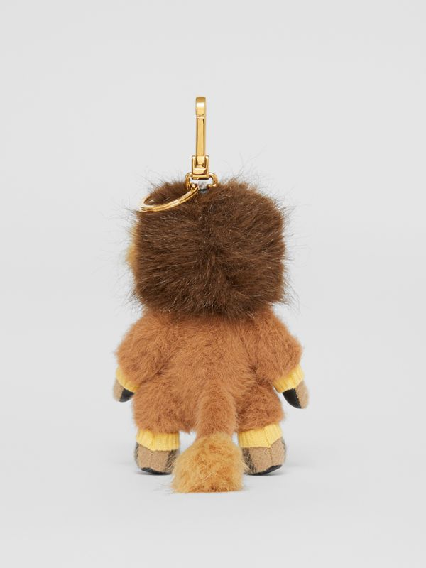 Thomas Bear Charm in Lion Costume in Archive Beige - Women | Burberry - cell image 3