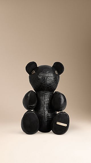 Alligator Leather Teddy Bear