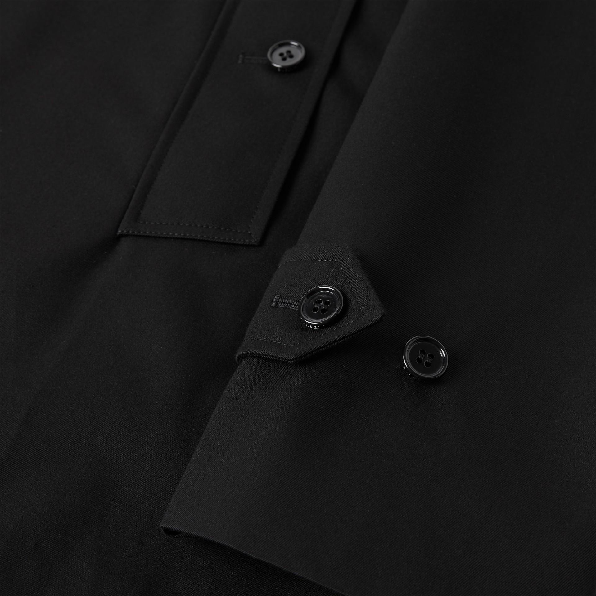 Cotton Gabardine Car Coat | Burberry United Kingdom - gallery image 4
