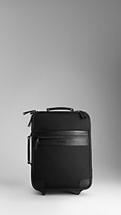 London Nylon Carry-On Suitcase