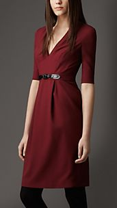 Equestrian Buckle Dress