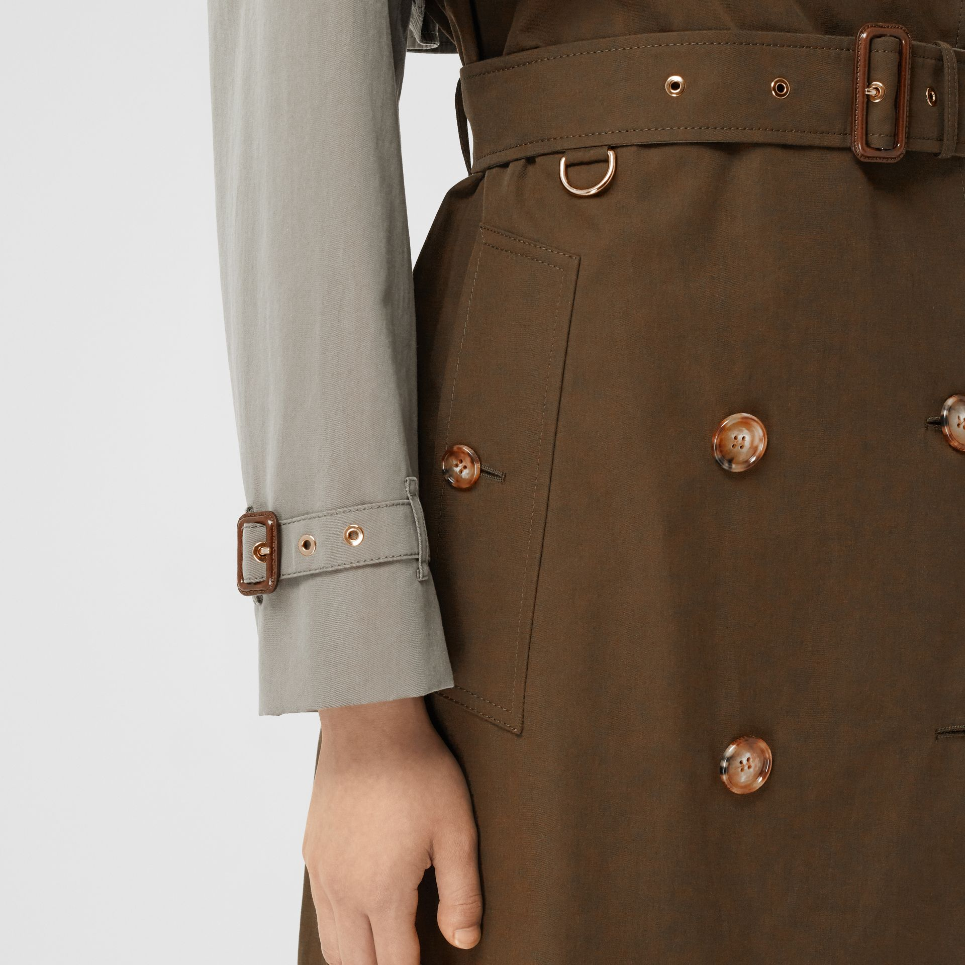 Two-tone Reconstructed Trench Coat - Women | Burberry - gallery image 5