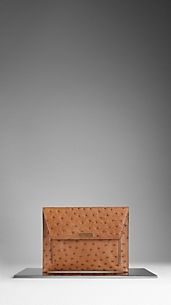 Ostrich Leather Digital Case