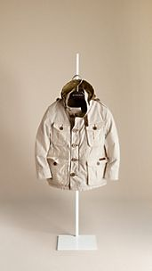 Reversible Cotton Poplin Field Jacket