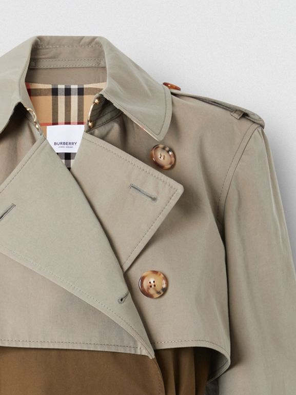 Two-tone Reconstructed Trench Coat - Women | Burberry - cell image 1
