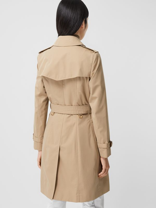 Trench Heritage mi-long The Chelsea (Miel) - Femme | Burberry Canada - cell image 2