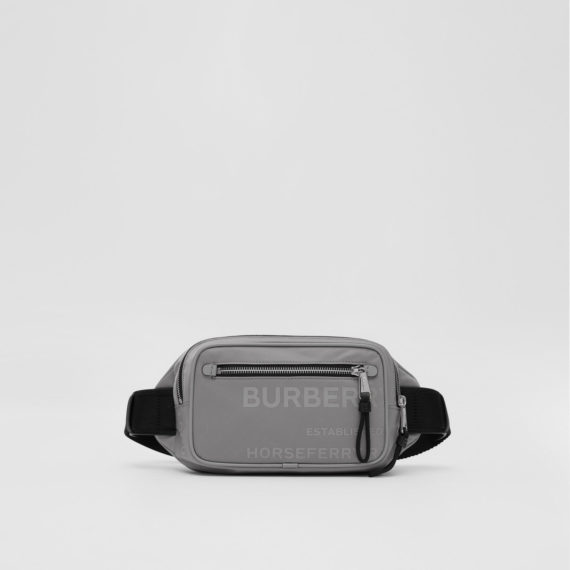 Horseferry Print ECONYL® Bum Bag - Men | Burberry United Kingdom - gallery image 0