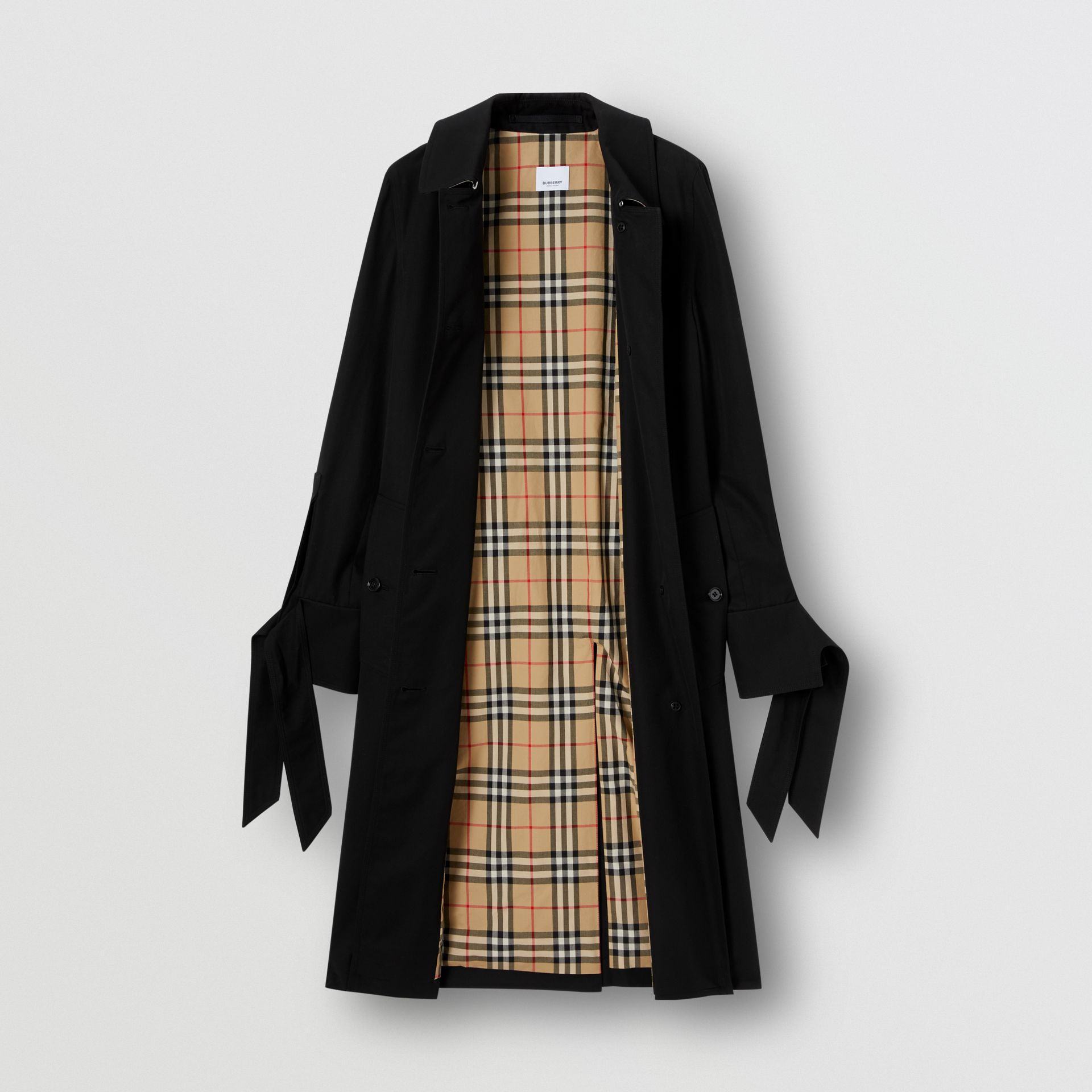 Tropical Gabardine Car Coat - Women | Burberry - gallery image 9