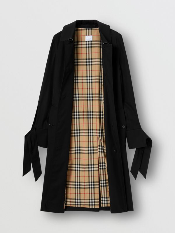 Tropical Gabardine Car Coat - Women | Burberry United States - cell image 2