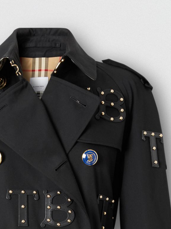 Trench coat Waterloo longo (Preto) | Burberry - cell image 1