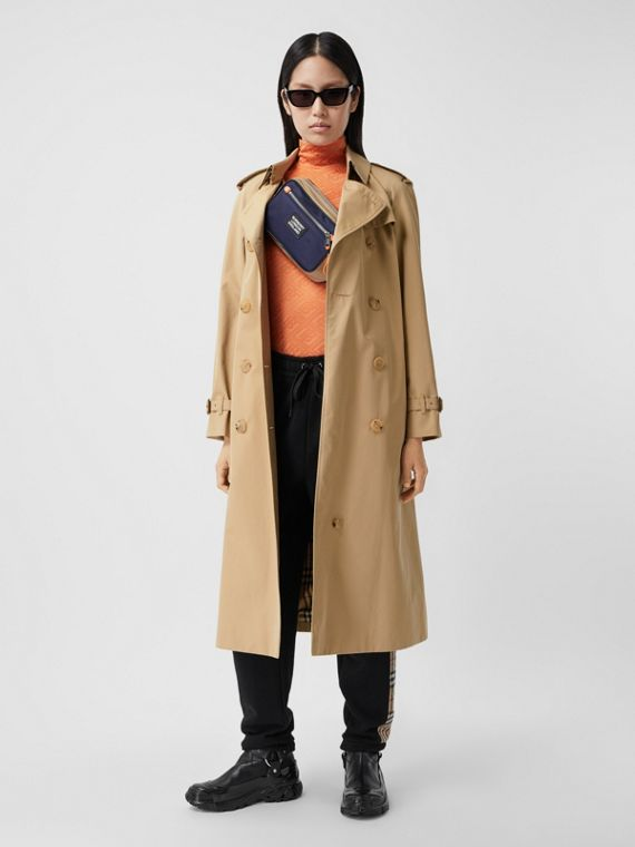 Trench coat Heritage Waterloo largo (Miel)