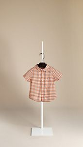 Cotton Gingham Shirt