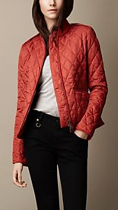 Epaulette Detail Quilted Jacket