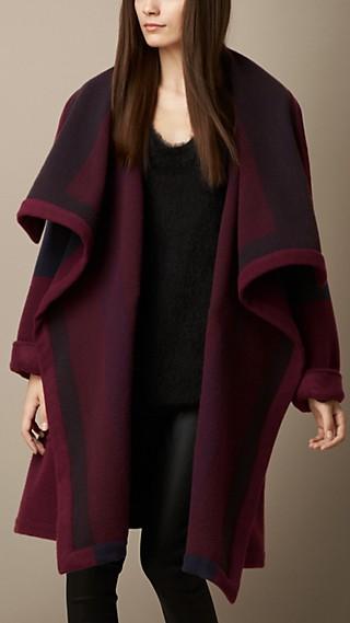 Knitted Blanket Coat