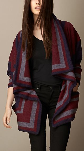 Knitted Blanket Jacket