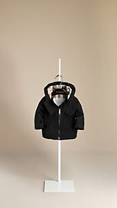 Check-Lined Parka