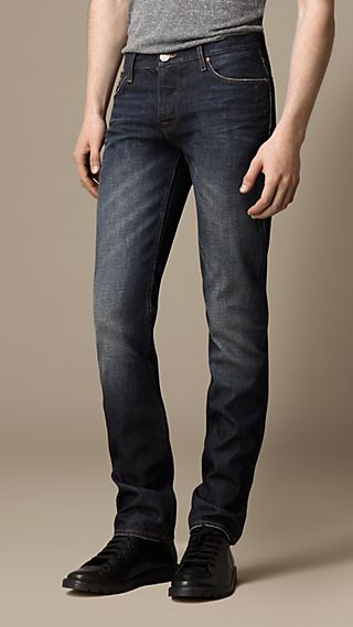 Steadman Resin Sprayed Slim Fit Jeans