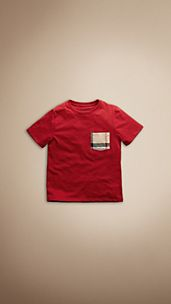 Check Pocket T-Shirt