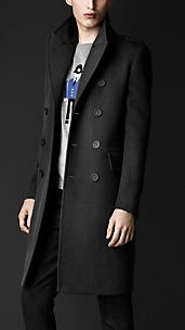 Cavalry Twill Military Topcoat