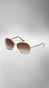 Metal Round Frame Sunglasses