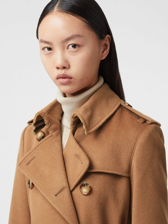 Cashmere Trench Coat in Bronze - Women | Burberry Hong Kong S.A.R. - cell image 1
