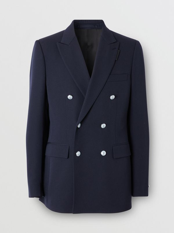 English Fit Wool Double-breasted Jacket - Men | Burberry - cell image 3