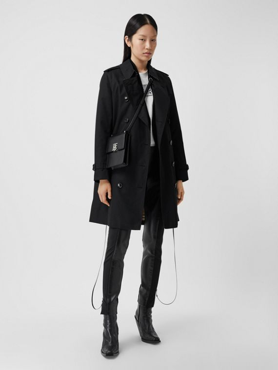 The Kensington - Trench coat Heritage médio (Preto)