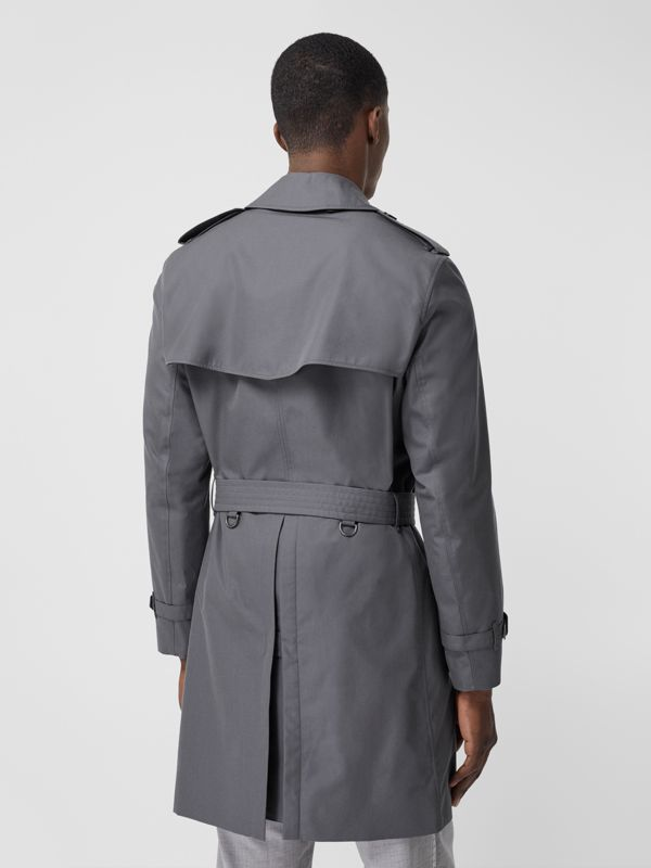 The Mid-length Chelsea Heritage Trench Coat in Grey - Men | Burberry Canada - cell image 2