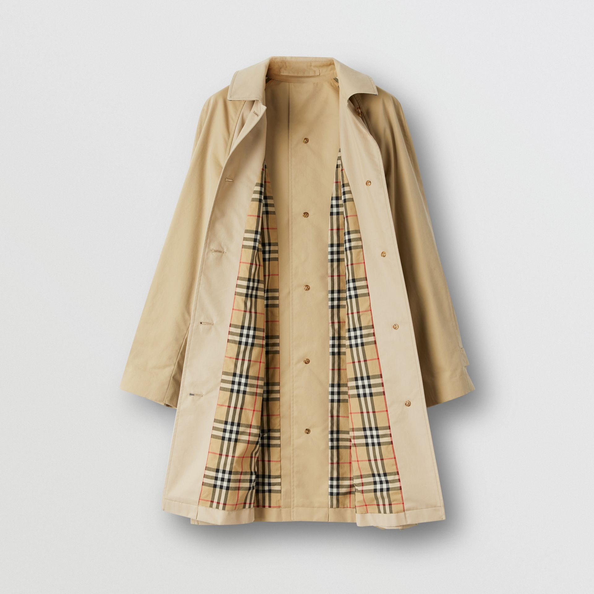 Two-tone Reconstructed Car Coat - Women | Burberry - gallery image 9