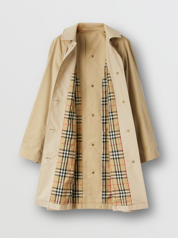 Two-tone Reconstructed Car Coat | Burberry United Kingdom - cell image 2